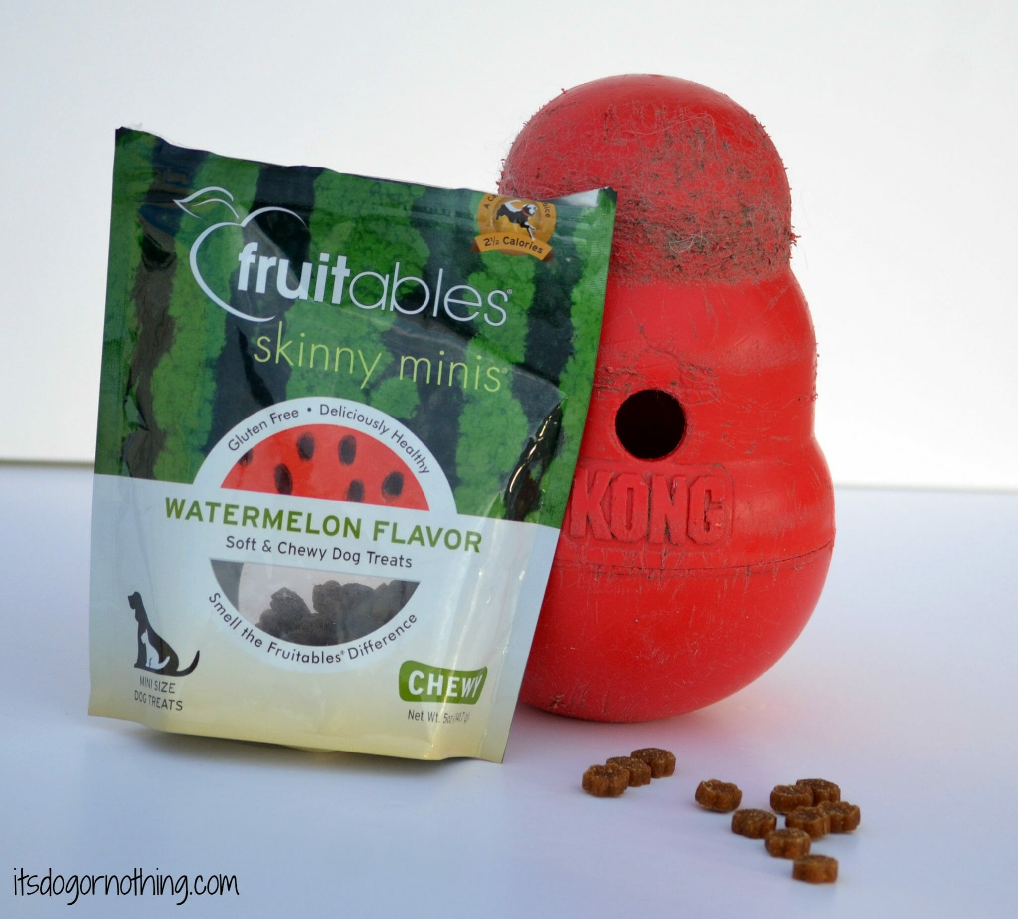 We also add the treats to a puzzle toy, such as a Kong, to keep the fluffies busy.