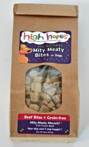 High Hopes for Pets - Mity Meaty Bites