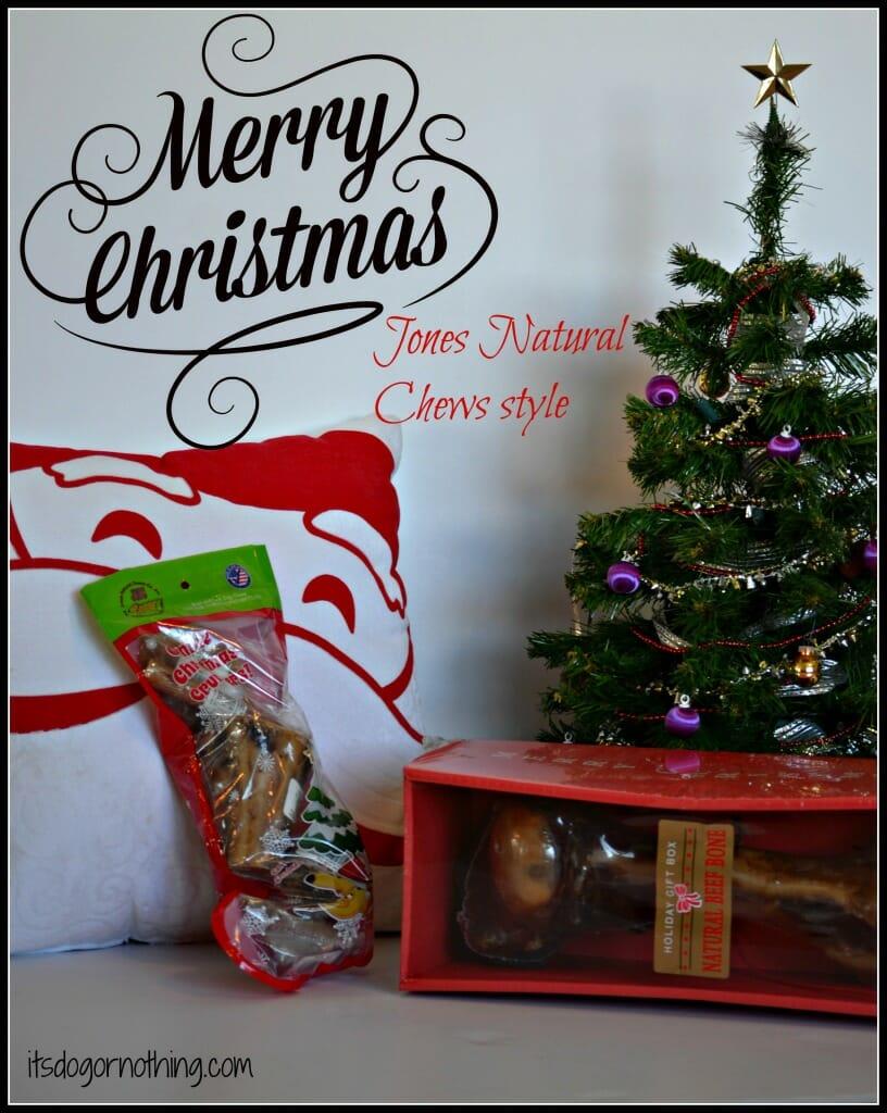 Jones Natural Chews: Christmas Covered