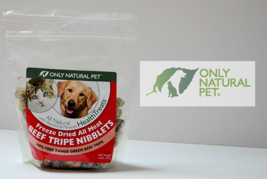 Only Natural Pet Green Beef Tripe Niblets