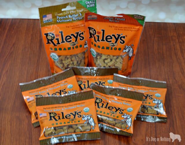 Riley's Organic Dog Treats - Pet Paw-Looza