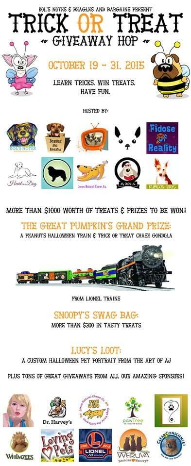 The Trick or Treat Giveaway Hop!