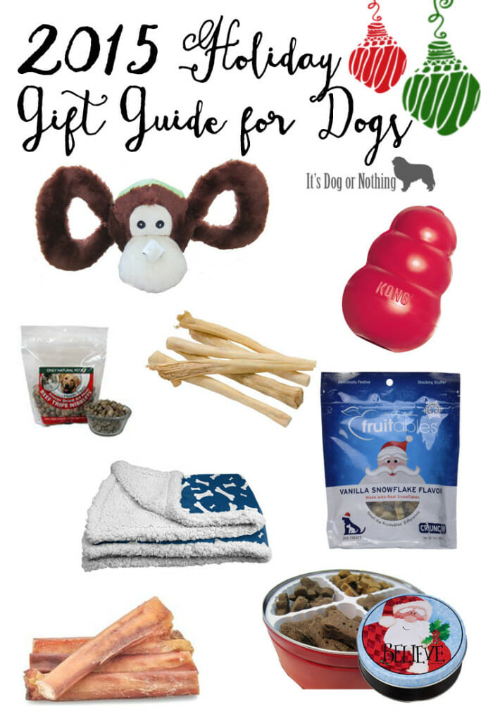 2015 Holiday Gift Guide for Dogs