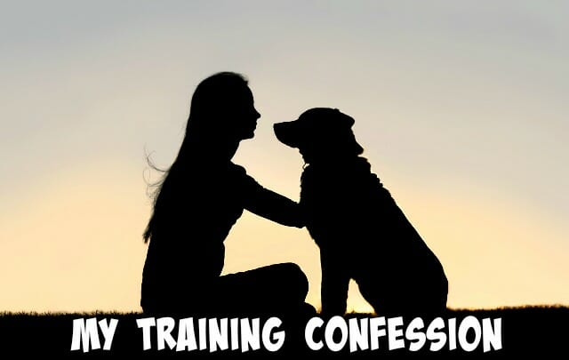 My Training Confession
