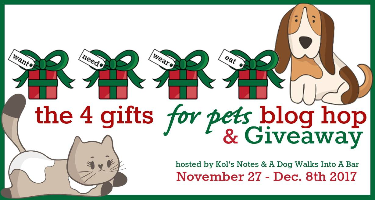 4 Gifts for Pets Blog Hop | 2017