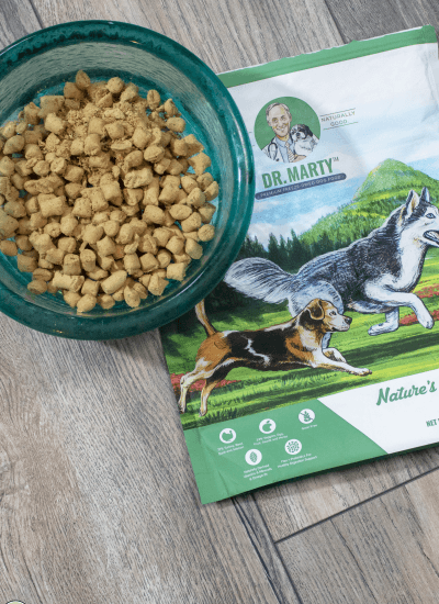 Freeze-Dried Raw Dog Food from Dr. Marty