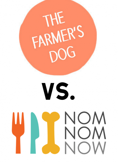The Farmer's Dog vs. NomNomNow: A Comprehensive Comparison