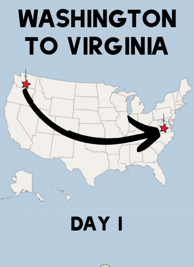 Washington to Virginia | Day 1